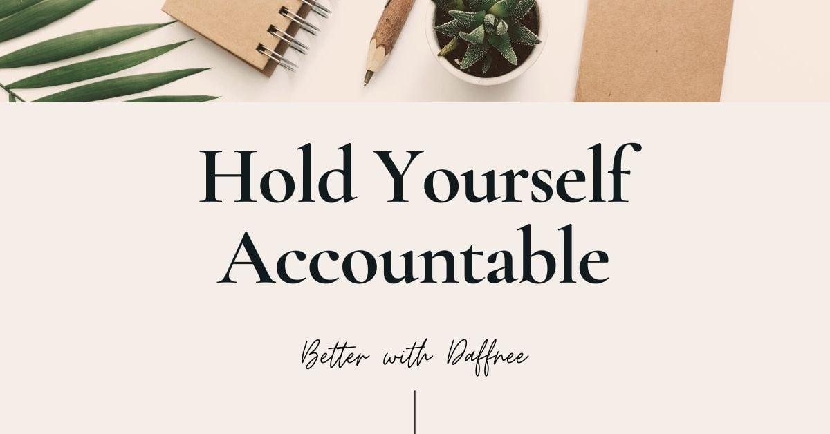 hold-yourself-accountable