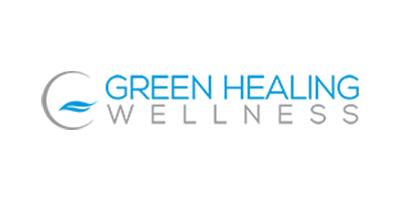 Green Healing Wellness Logo